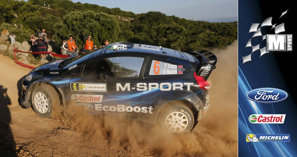 M-SPORT WRT: MIDDAY QUOTES RALLY ITALIA, DAY TWO