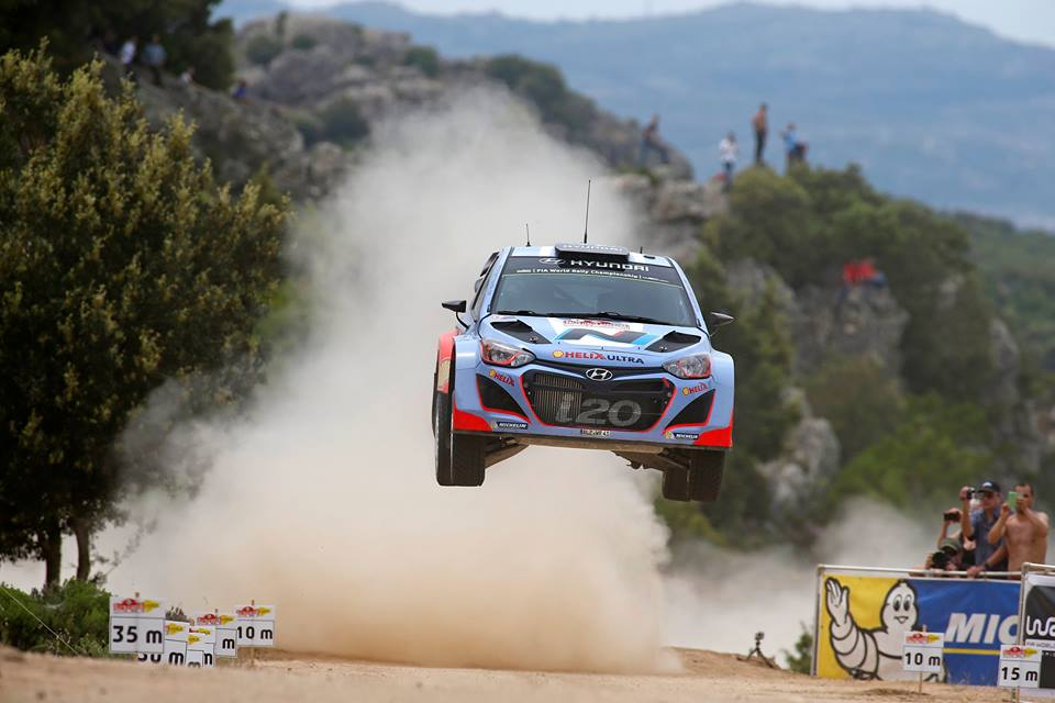 HYUNDAI SHELL WORLD RALLY TEAM- RALLY ITALIA SARDEGNA DAY ONE