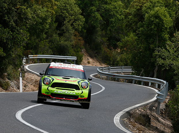MINI EUROLAMP WORLD RALLY TEAM: LOTOS RALLY POLAND DAY ONE