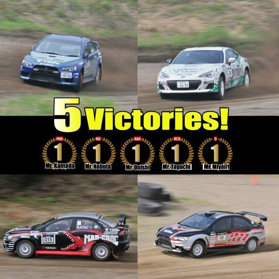 TEIN MOTORSPORTS DOMINATES IN THEIR PRESENTATIONS ON THE DIRT SPRINT IN JAPAN