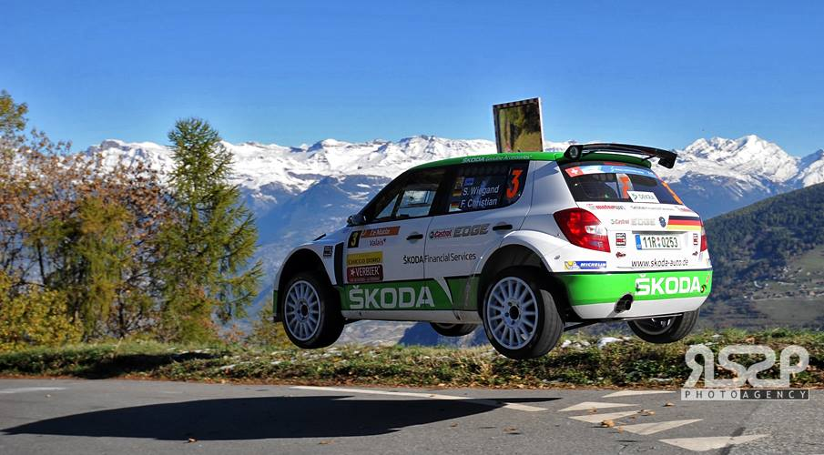 "ŠKODA MOTORSPORT: ""RALLYE INTERNATIONAL DU VALAIS"": ONE-TWO LEAD FOR  ŠKODA AT THE END FIRST DAY"