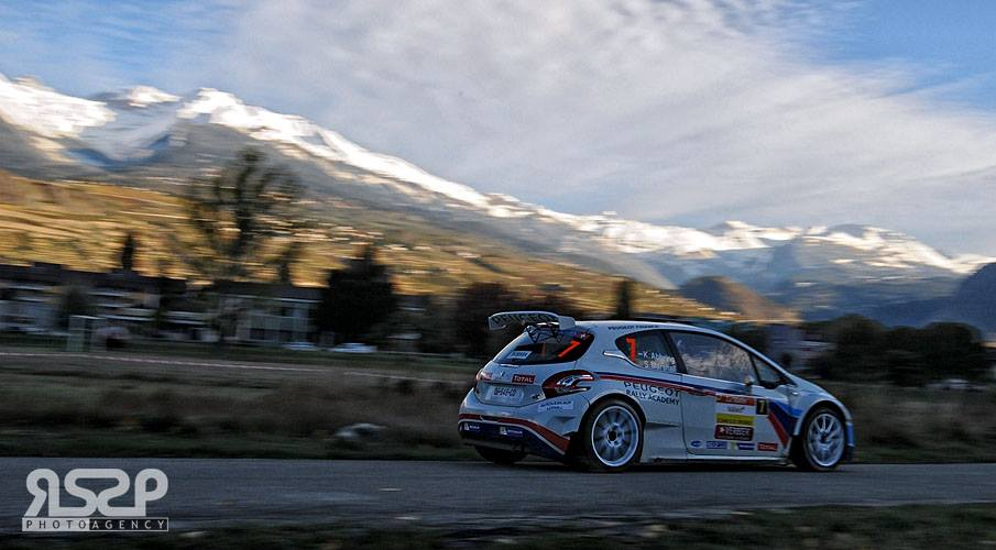 PEUGEOT SPORT FRANCE/RALLY ACADEMY: ERC CRAIG BREEN'S THRILLING COMEBACK!
