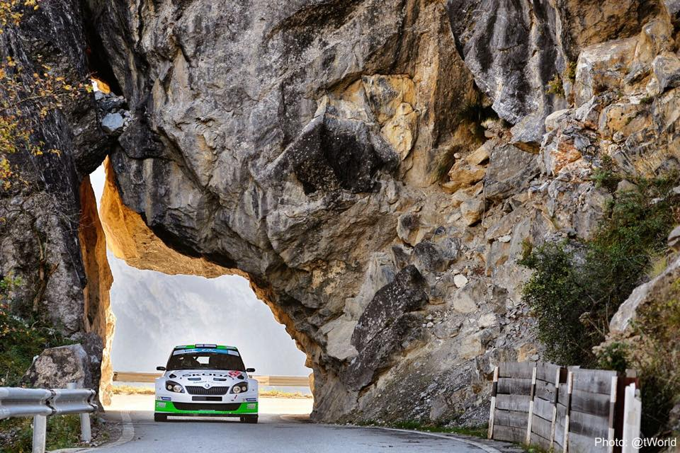 "ŠKODA MOTORSPORT:  ŠKODA DEFENDS ITS LEAD AT THE ""RALLYE INTERNATIONAL DU VALAIS"""