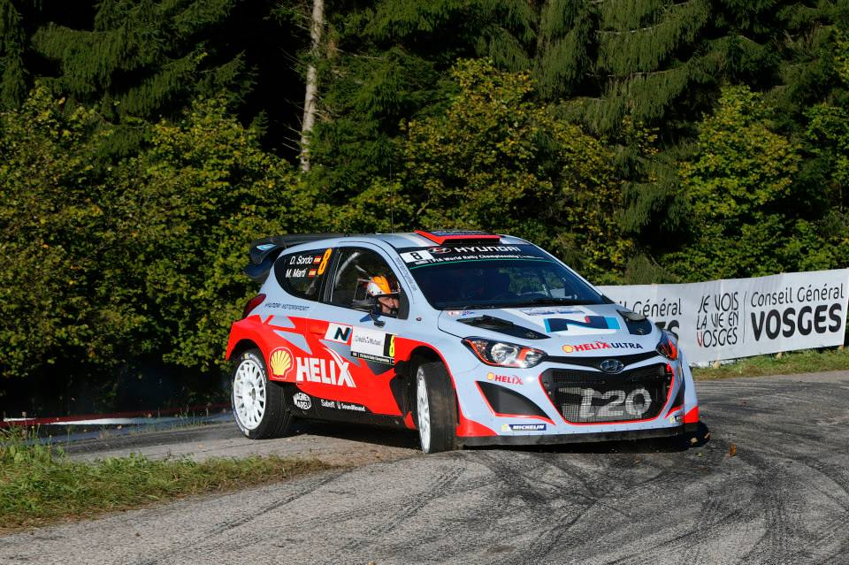 HYUNDAI SHELL WORLD RALLY TEAM: RALLY DE FRANCE-ALSACE DAY TWO