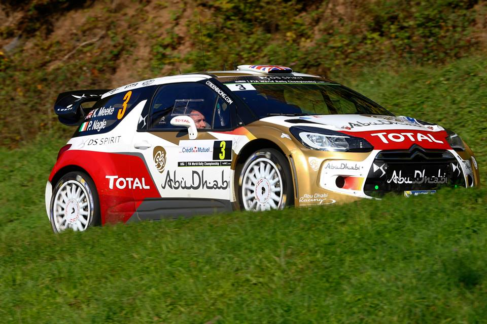 CITROËN TOTAL ABU DHABI WORLD RALLY TEAM: RALLY DE FRANCE-ALSACE DAY THREE