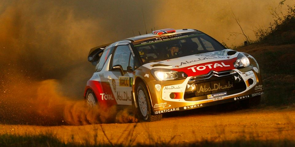 CITROËN TOTAL WORLD RALLY TEAM: MADS ØSTBERG MAKES IT THROUGH THE DUST
