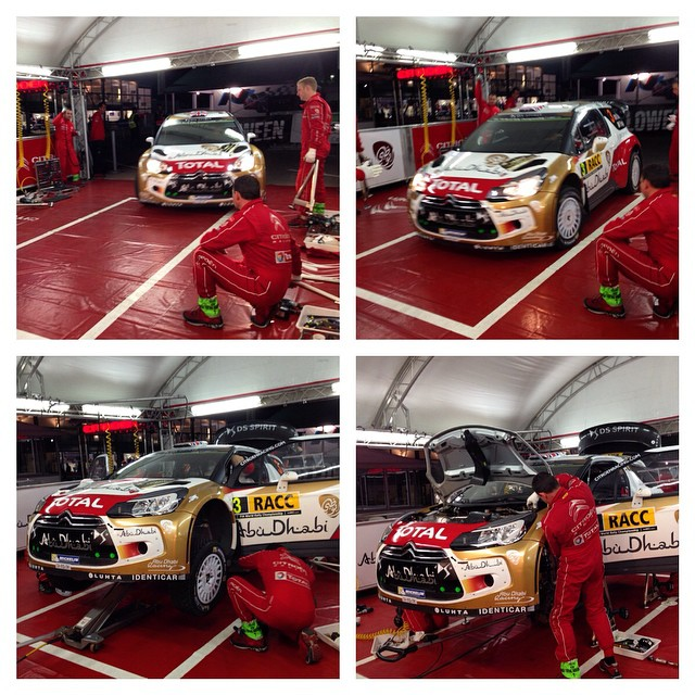 CITROËN TOTAL ABU DHABI WORLD RALLY TEAM: DOUBLE RATIONS FOR THE DS3 WRCS