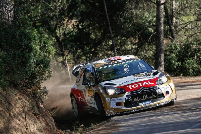 CITROËN TOTAL ABU DHABI WORLD RALLY TEAM: MADS ØSTBERG JUST SHORT OF A PODIUM SPOT