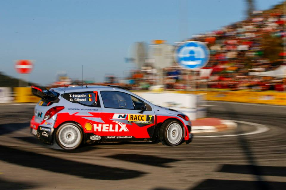 HYUNDAI SHELL WORLD RALLY TEAM: FINISHES RALLY DE ESPAÑA WITH ALL THREE CARS IN THE TOP TEN