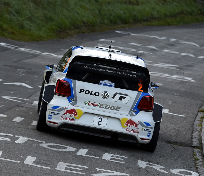 VOLKSWAGEN MOTORSPORT WRT: RALLY DE FRANCE-ALSACE DAY TWO