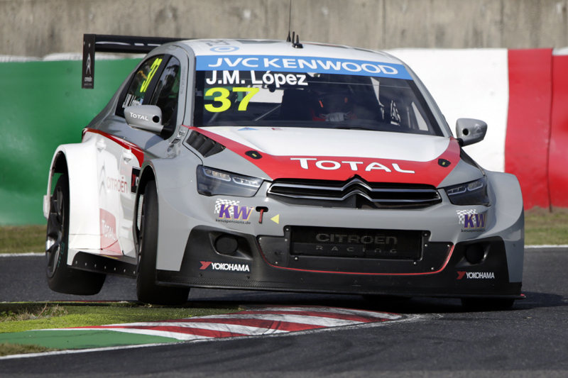 CITROËN TOTAL WTCC TEAM: PECHITO FOLLOWS IN FANGIO'S FOOTSTEPS TO CLINCH WORLD CHAMPIONSHIP CROWN!