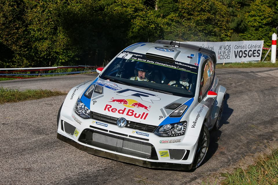 VOLKSWAGEN MOTORSPORT WRT:  POWERED BY VW-LATVALA/ANTTILA CLAIM HISTORIC WRC VICTORY IN FRANCE