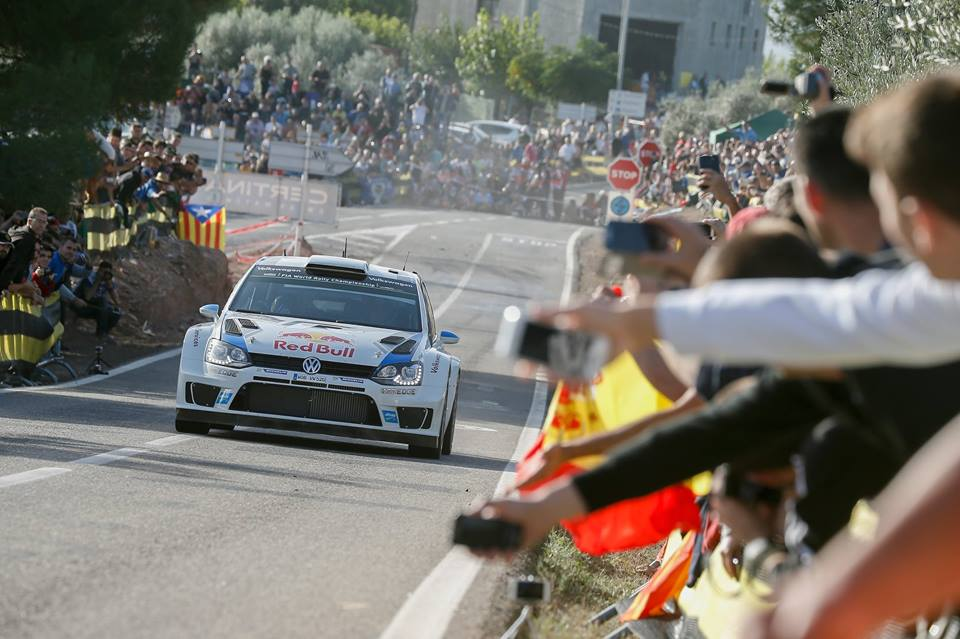 VOLKSWAGEN MOTORSPORT WRT: OGIER AHEAD OF LATVALA – VOLKSWAGEN ONE-TWO LEAD IN SPANISH DUST