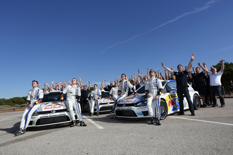VOLKSWAGEN MOTORSPORT WRT:  THE WORLD RALLY CHAMPIONSHIP'S DREAM TEAM: VOLKSWAGEN STICKS WITH WINNING COMBINATION OF OGIER, LATVALA AND MIKKELSEN