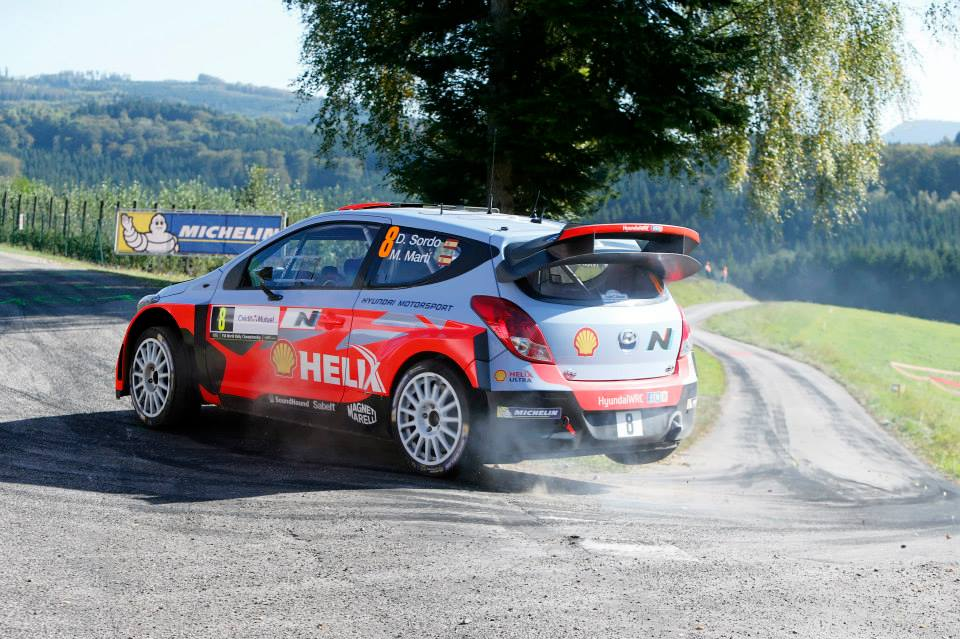 HYUNDAI SHELL WORLD RALLY TEAM: RALLY DE FRANCE-ALSACE DAY ONE
