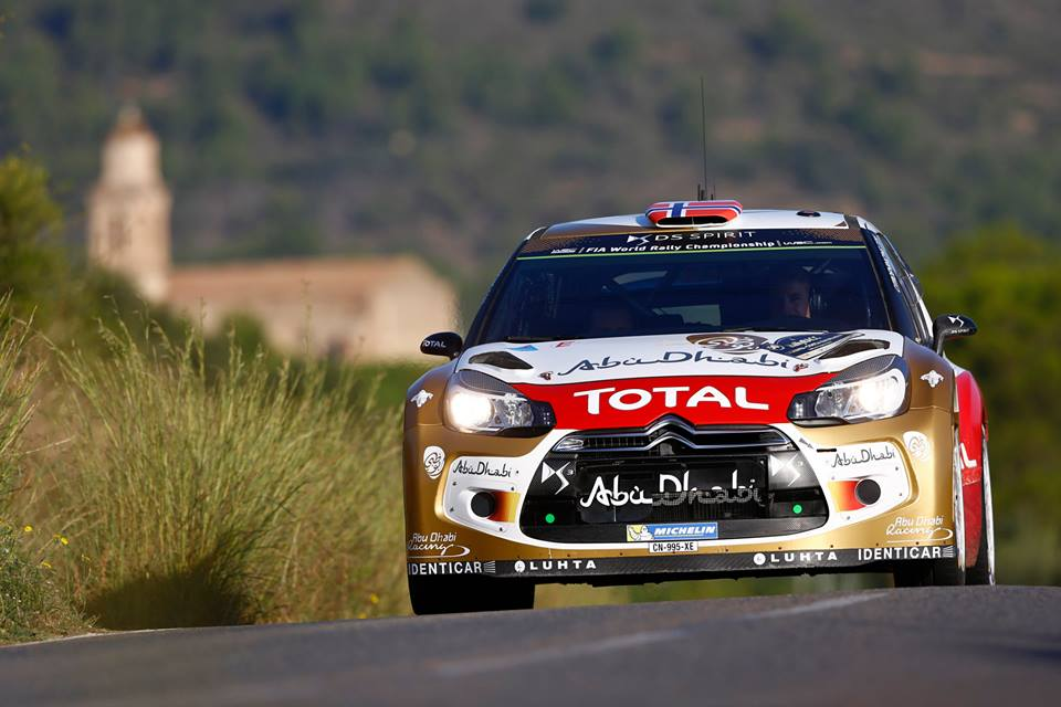 CITROËN TOTAL ABU DHABI WORLD RALLY TEAM: MADS ØSTBERG GAINS TWO PLACES!