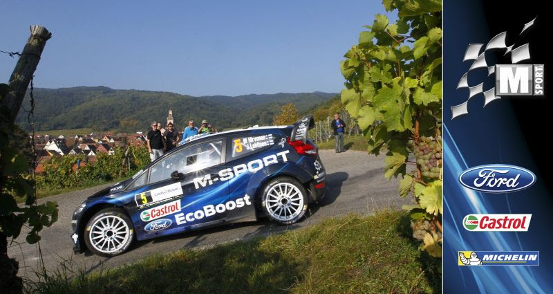 M-SPORT WORLD RALLY TEAM: RALLY DE FRANCE-ALSACE DAY TWO