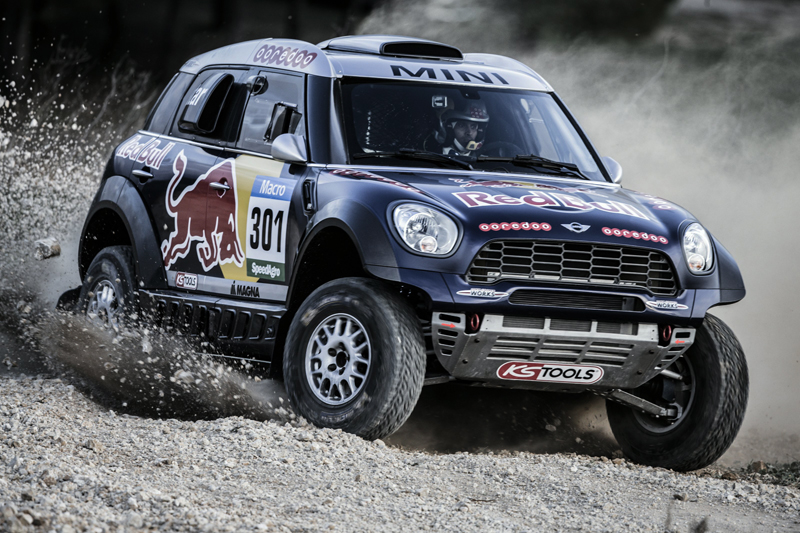 Nasser Al Attiyah and Matthieu Baumel - Action