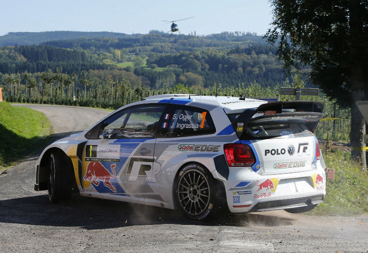VOLKSWAGEN MOTORSPORT: WORLD RALLY CHAMPION SÉBASTIEN OGIER AND THE VOLKSWAGEN POLO R WRC ARE GUEST IN NUREMBERG