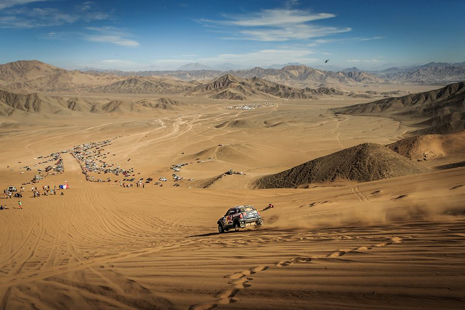 DAKAR RALLY 2015: QATAR RED BULL RALLY TEAM: AL-ATTIYAH ABLE TO REST ON HIS LAURELS