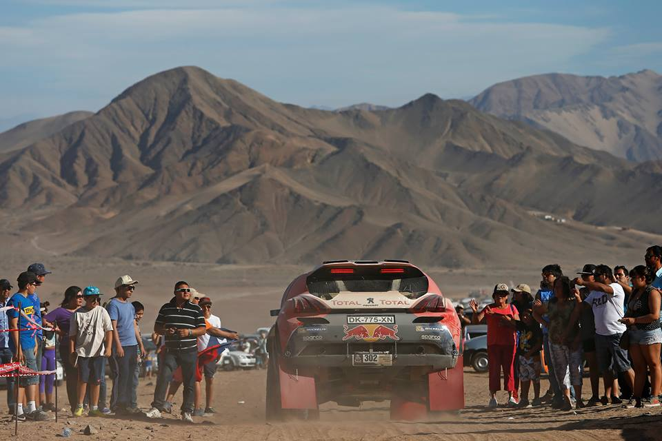 DAKAR RALLY 2015: PEUGEOT TOTAL TEAM- FINAL PUSH FOR PEUGEOT UNDERWAY IN ARGENTINA
