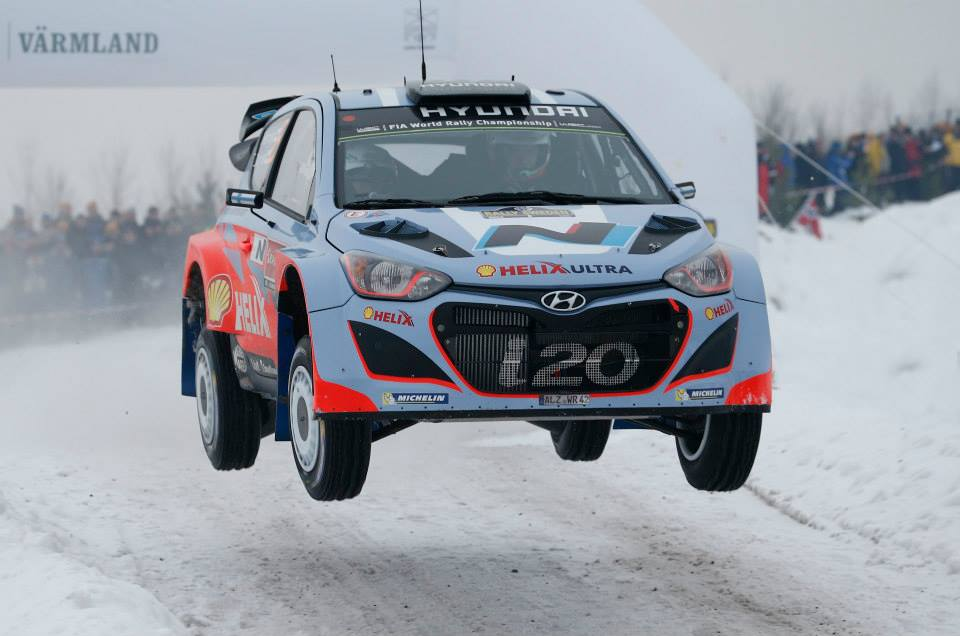 HYUNDAI SHELL WORLD RALLY TEAM: HYUNDAI MOTORSPORT CONFIRMS DRIVER-LINE UP FOR RALLY SWEDEN
