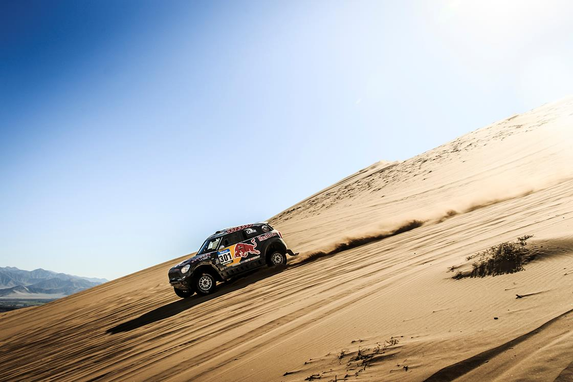 DAKAR RALLY 2015: QATAR RED BULL RALLY TEAM- ANOTHER STAGE WIN AS AL-ATTIYAH EXTENDS DAKAR RALLY LEAD