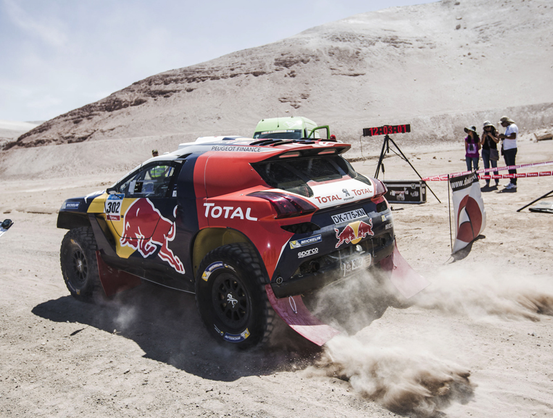 DAKAR RALLY 2015: PEUGEOT TOTAL TEAM- DRIVERS REFLECT ON HIGHS AND LOWS