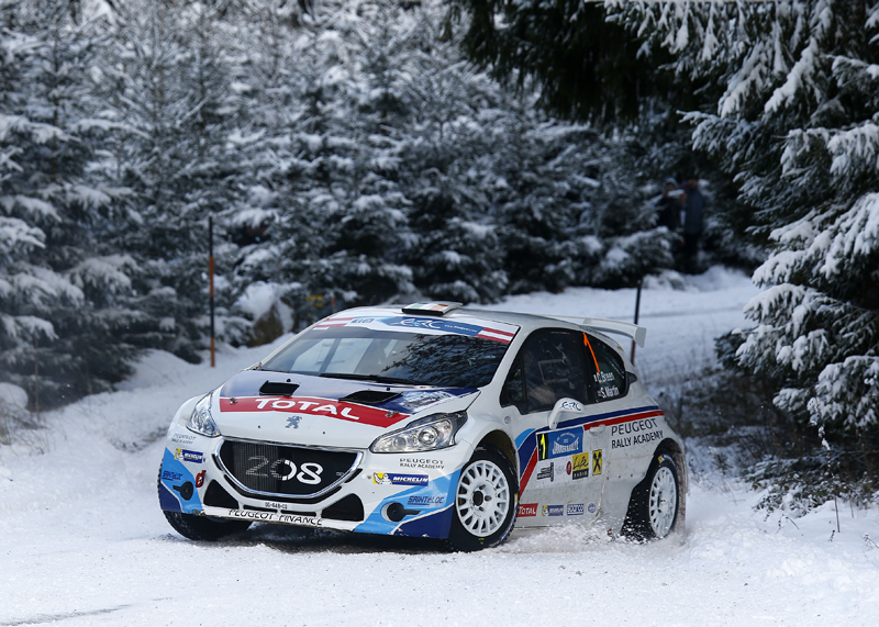 ERC 2015: PEUGEOT SPORT RALLY ACADEMY-CONTRASTING DEBUT TO THE PEUGEOT RALLY ACADEMY'S 2015 CAMPAIGN