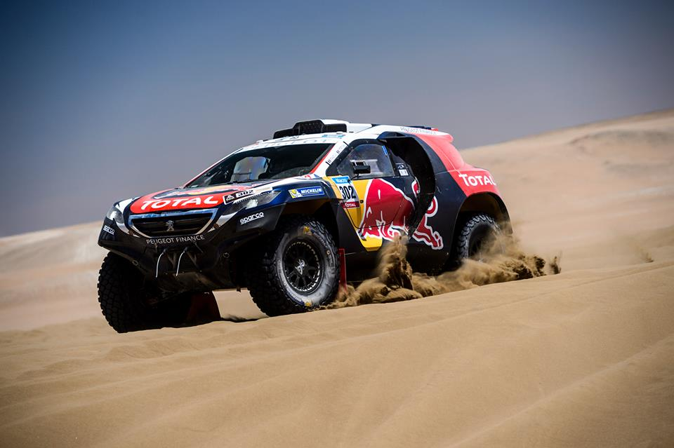 DAKAR RALLY 2015: PEUGEOT TOTAL TEAM-STORMY ENTRY INTO BOLIVIA