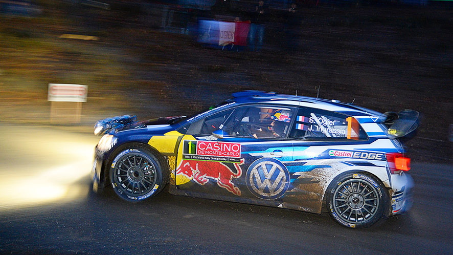 """FIA WORLD RALLY CHAMPIONSHIP 2015: READY FOR THE """"MONTE"""" – TOP RESULTS FOR VOLKSWAGEN IN THE SHAKEDOWN"""