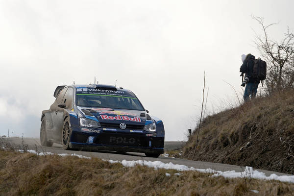 "FIA WORLD RALLY CHAMPIONSHIP 2015: VOLKSWAGEN RED BULL MOTORSPORT-VOLKSWAGEN ONE-TWO-THREE – OGIER LEADS LATVALA AND MIKKELSEN AT TH ""MONTE"""