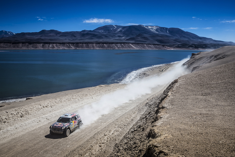 DAKAR RALLY 2015: QATAR RED BULL RALLY TEAM: AL-ATTIYAH CONFIDENT HEADING INTO SECOND HALF OF DAKAR RALLY