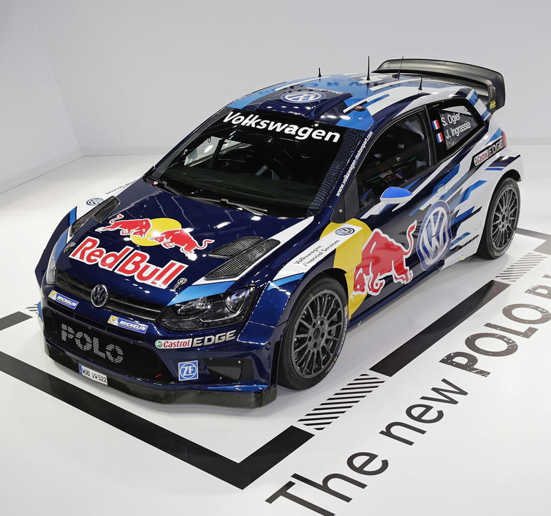 WORLD RALLY CHAMPIONSHIP 2015: VOLKSWAGEN RED BULL MOTORSPORT: NEW TECHNOLOGY, NEW DESIGN: PRESENTING THE SECOND GENERATION POLO R WRC