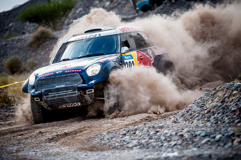 DAKAR RALLY 2015: AL-ATTIYAH CONTINUES TO LEAD THE DAKAR RALLY WITH MINI