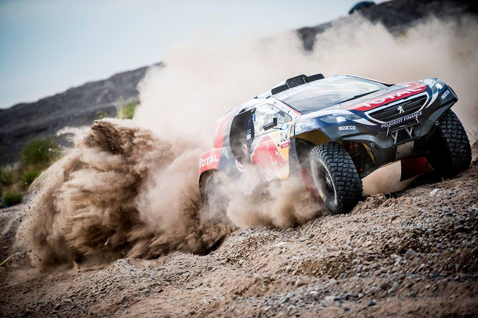 DAKAR RALLY 2015: SAINZ UP TO FOURTH FOR TEAM PEUGEOT-TOTAL IN ARGENTINA