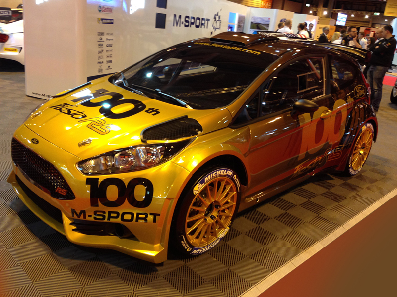 M-SPORT WORLD RALLY TEAM: M-SPORT'S 100TH FORD FIESTA R5