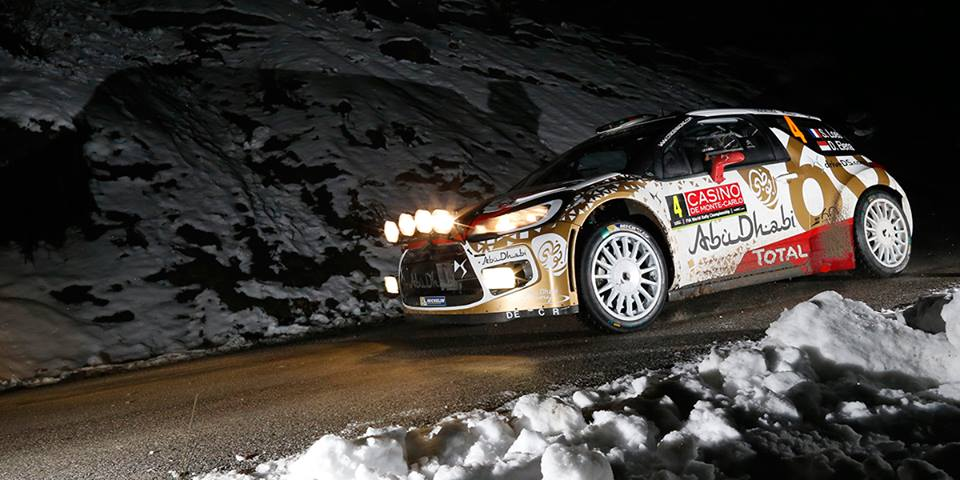 FIA WORLD RALLY CHAMPIONSHIP 2015: CITROËN TOTAL ABU DHABI WORLD RALLY TEAM-LOEB CONTINUES TO LIVEN UP MONTE-CARLO