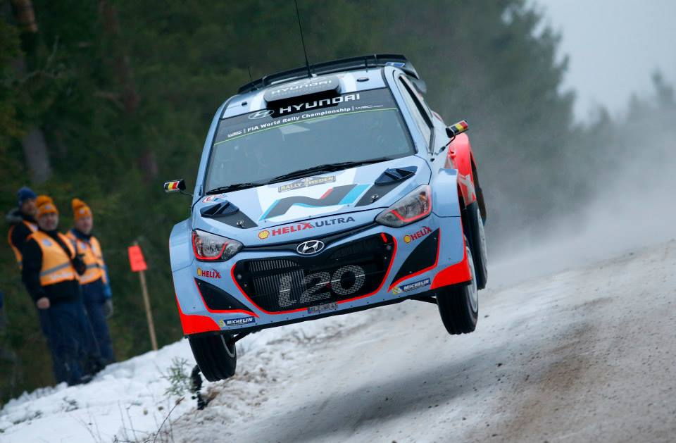 FIA WORLD RALLY CHAMPIONSHIP 2015: HYUNDAI SHELL WORLD RALLY TEAM-HYUNDAI MOTORSPORT HEADS TO RALLY SWEDEN FOR FIRST THREE-CAR EVENT OF 2015