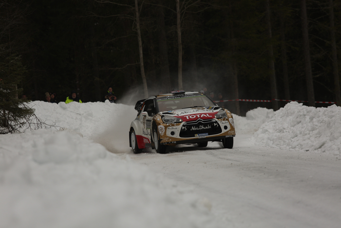 Rallye Sweden, Rally, WRC, Day Two 13.02.2015