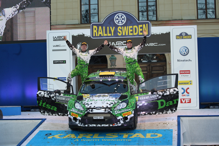 Rallye Sweden, Rally, WRC, Day For 15.02.2015