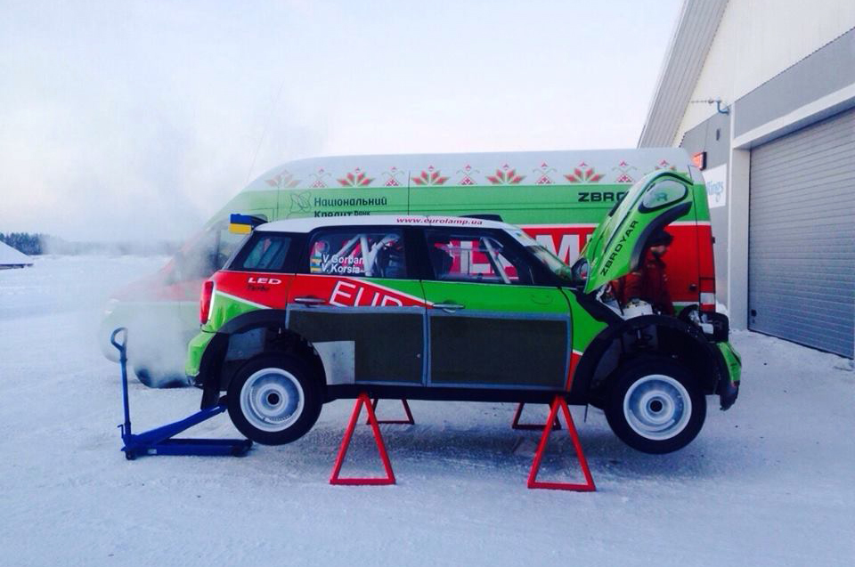 FIA WORLD RALLY CHAMPIONSHIP 2015: MINI EUROLAMP WORLD RALLY TEAM-UKRAINIAN EUROLAMP WRT IS READY TO START THE NEW SEASON IN THE WORLD RALLY CHAMPIONSHIP 2015
