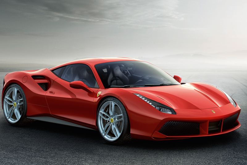 GENEVA MOTORSHOW 2015: FERRARI 488 GTB: EXTREME POWER FOR EXTREME DRIVING THRILLS