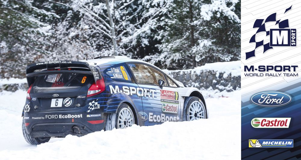 FIA WORLD RALLY CHAMPIONSHIP 2015: M-SPORT WORLD RALLY TEAM-M-SPORT SEARCH FOR SNOW IN SWEDEN