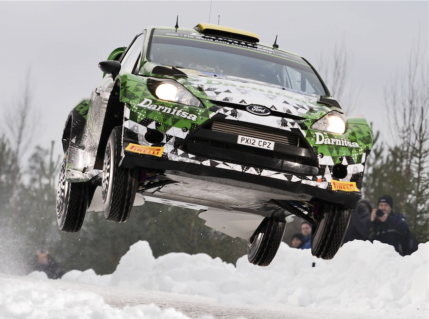 AUTOMOBILE: WRC Rally Sweden- WRC -12/02/2015