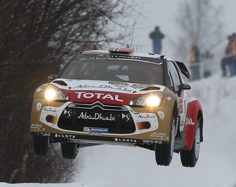 FIA WORLD RALLY CHAMPIONSHIP 2015: MADS ØSTBERG AND THE DS 3 WRC WIN IN NORWAY!