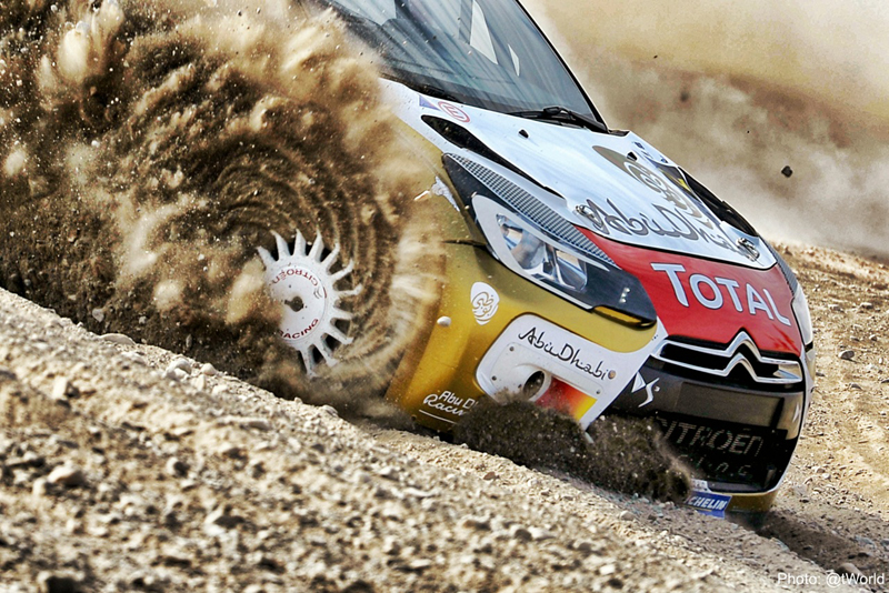 MERC- MIDDLE EAST CHAMPIONSHIP 2015:  KHALID AL QASSIMI AND THE DS 3 RRC TOP THE BILL IN QATAR