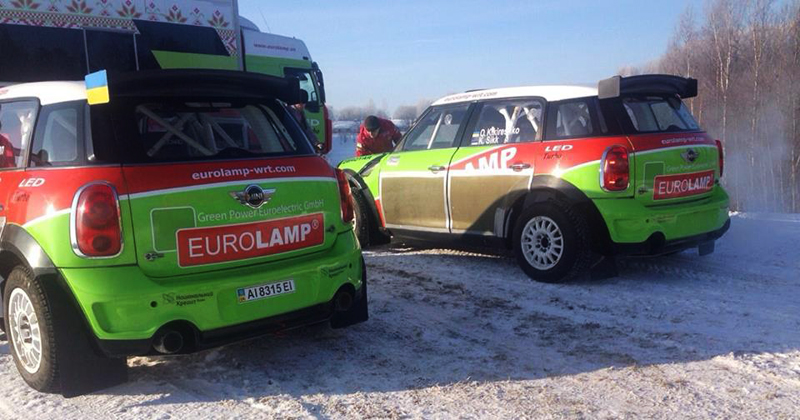 RALLY MUNDIAL 2015: MINI EUROLAMP WORLD RALLY TEAM-MINI EUROLAMP WORLD RALLY TEAM INTENSIFICA SUS ENSAYOS PREVIOS A SUECIA