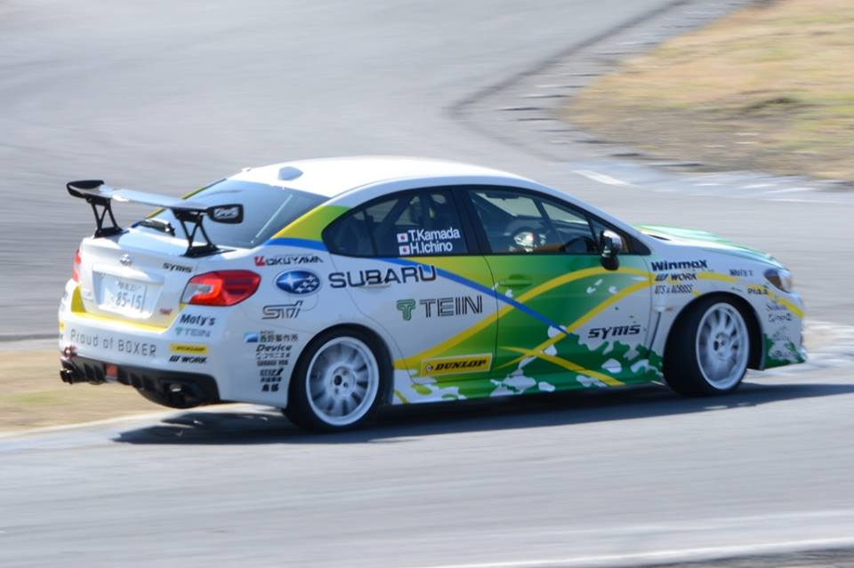 JAPAN RALLY CHAMPIONSHIP (JRC) 2015: TEIN MOTORSPORTS-MR.KAMADA HAS CARRIED OUT SHAKEDOWN SESSION SUCCESSFULLY