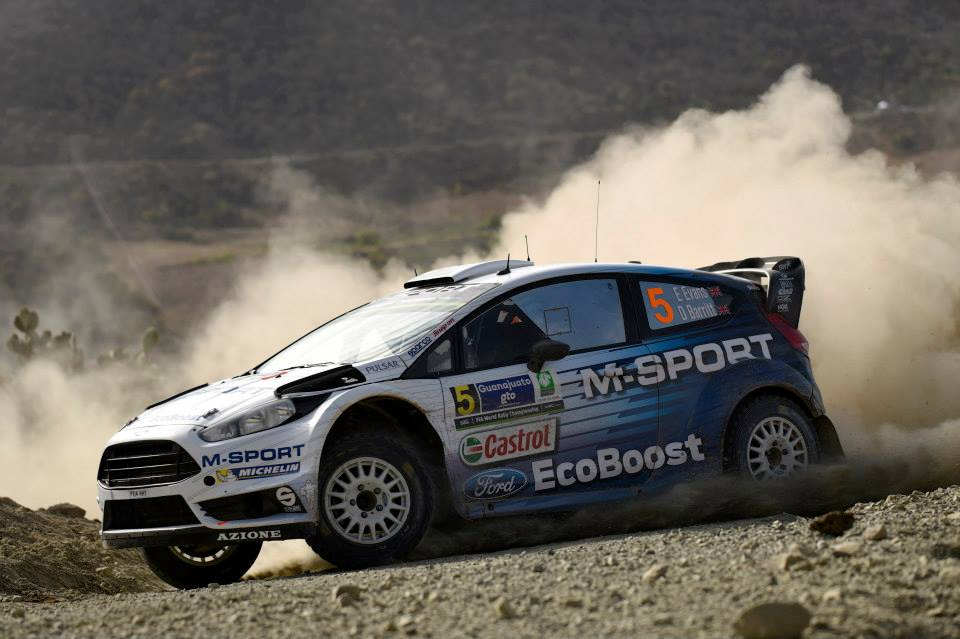 """FIA WORLD RALLY CHAMPIONSHIP (WRC) 2015: M-SPORT WORLD RALLY TEAM- EVANS EQUALS CAREER BEST AS """"TITÄNAK"""" SAILS TO THE FINISH"""